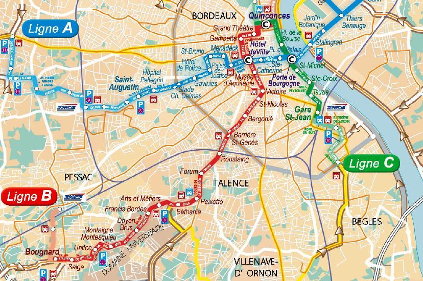 Canécole  Bordeaux prend le tram